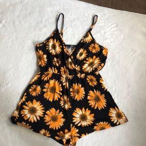 SHEIN sunflower romper